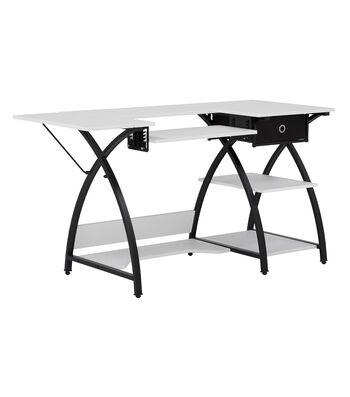 Studio Designs Comet Hobby Center-Black/White