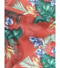 Tropic Time Linen Fabric 57\u0027\u0027-Tawny Orange Tropical Print