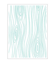 Park Lane A2 Embossing Folder-Woodgrain, , hi-res