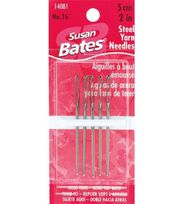 "Susan Bates Steel Yarn Needles Size 16,  2"", , hi-res"