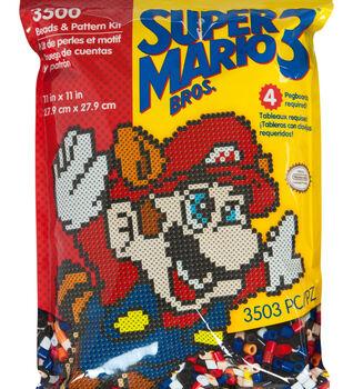 Perler Super Mario Bros. 3 3500 Count Pattern Bag