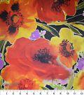 Gianna Taffeta Fabric 43\u0027\u0027-Large All Over Floral Blossom