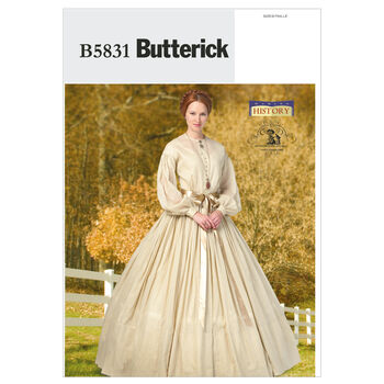 Butterick Misses Historical Costumes-B5831