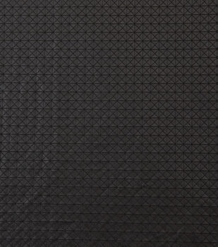 Yaya Han Cosplay Geometric Pleather Fabric-Black