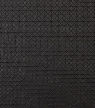 Yaya Han Cosplay Geometric Pleather Fabric-Black