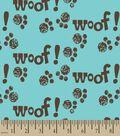 Woof! Print Fabric