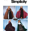 Simplicity Pattern 5794A Misses\u0027 Capes-Size XS S M L