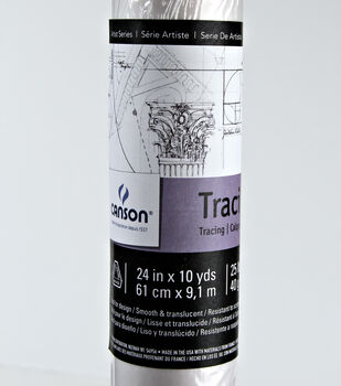 """Canson Tracing Paper Roll-24"""" x 10 yds"""