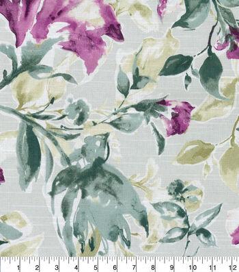 "Kelly Ripa Home Upholstery Fabric 54""-Glorious Garden Heather"