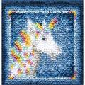 Wonderart Latch Hook Kit 12\u0022X12\u0022-Unicorn
