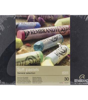 Rembrandt Full Stick Soft Pastels Set 30/Pkg-General Selection