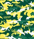 University of Oregon Ducks Fleece Fabric 60\u0022-Camo