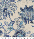 Williamsburg Multi-Purpose Decor Fabric 54\u0027\u0027-Ink Braganza