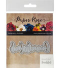 Paper Rose 2 pk Layered Metal Dies-Beautiful