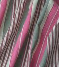 Home Essentials Decor Fabric-Long Hill Pink Lemonade
