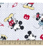 Disney Mickey and Minnie Mouse Print Fabric, , hi-res