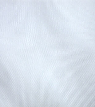 Casa Collection Mesh Fabric -White