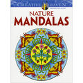 Dover Creative Haven Nature Mandalas Coloring Book