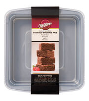 "Wilton Recipe Right Covered Brownie Pan 9""X9""X2"", , hi-res"