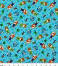 Snuggle Flannel Fabric 42\u0022-Print Happy Bears And Friends