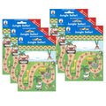 Jungle Safari Mini Incentive Charts, 6 Per Pack