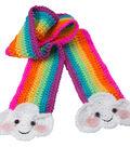 Crochet A Rainbow Scarf Kit