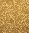 Home Decor 8\u0022x8\u0022 Fabric Swatch-Upholstery Fabric Barrow M8812-5146 Gild