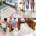 Ruggable Washable 2.5x7\u0027 Runner Rug-Solid Textured Cream