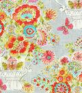 Dena Home Fabric 54\u0022-Flower Love Sherbert