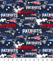 New England Patriots Cotton Fabric-Distressed, , hi-res