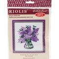 RIOLIS 7.75\u0027\u0027x7.75\u0027\u0027 Counted Cross Stitch Kit-Bunch of Lilacs