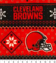 Cleveland Browns Fleece Fabric-Winter, , hi-res