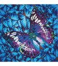 Diamond Embroidery Facet Art Kit 15\u0022X15\u0022-Flutter By Mauve