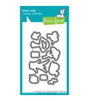 Lawn Fawn Lawn Cuts Custom Craft Die -Gleeful Gardens, , hi-res