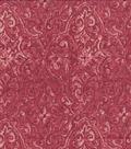 Keepsake Calico Cotton Fabric 44\u0022-Lanyard Red