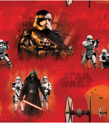 "Star Wars: The Force Awakens Fleece Fabric 58""-Villians"