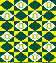"University of Oregon Ducks Vinyl Fabric 52""-Logo, , hi-res"