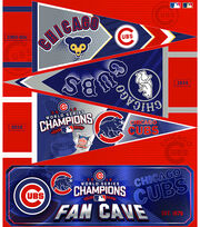 Chicago Cubs Felt Panel 36''-Pennant, , hi-res