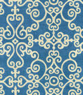 P/K Lifestyles Upholstery 8x8 Fabric Swatch-Tendril/Porcelain