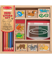 Pets -wooden Stamp Set, , hi-res