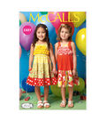 McCall\u0027s Pattern- M7144-CB0 Toddlers\u0027 & Children\u0027s Dresses-1-2-3