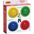 Sensory Balls, Assorted Colors, 4\u0022 Diameter, Pack of 4