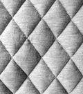 Varsity Club Quilted Knit Fabric 55\u0022-Grey