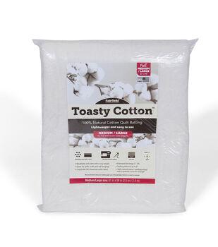 Fairfield Toasty Cotton Batting-Full