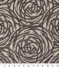 Robert Allen @ Home Upholstery Swatch 54\u0022-Mod Circles Greystone