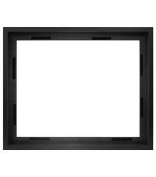 Canvas Shell Wall Frame 16x20-Black