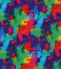Anti-Pill Fleece Fabric 59\u0027\u0027-Multicolored Tie Dye
