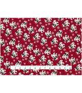Christmas Cotton Fabric 43\u0022-Santa Bulldogs