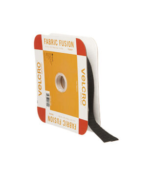 VELCRO Brand Iron On 15ft X 3/4in Tape, Black