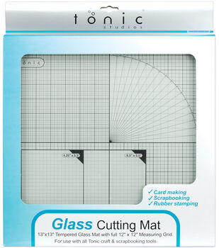 "Tempered Glass Cutting Mat-12""X12"""